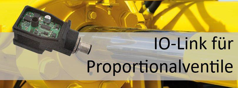 Press Release – Digitalisierung in der Hydraulik – Leistungsverstärker mit IO-Link
